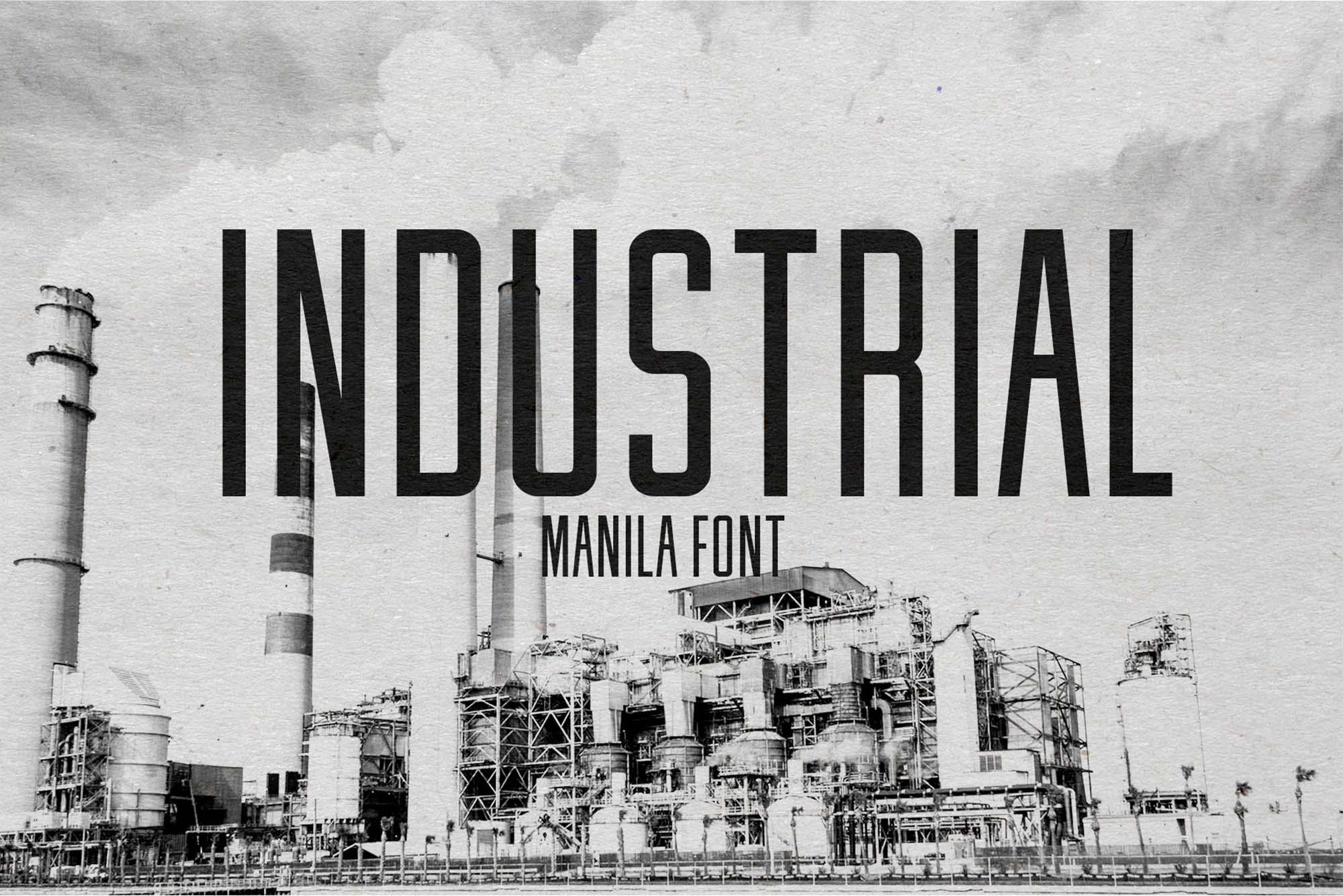 Manila Font 1