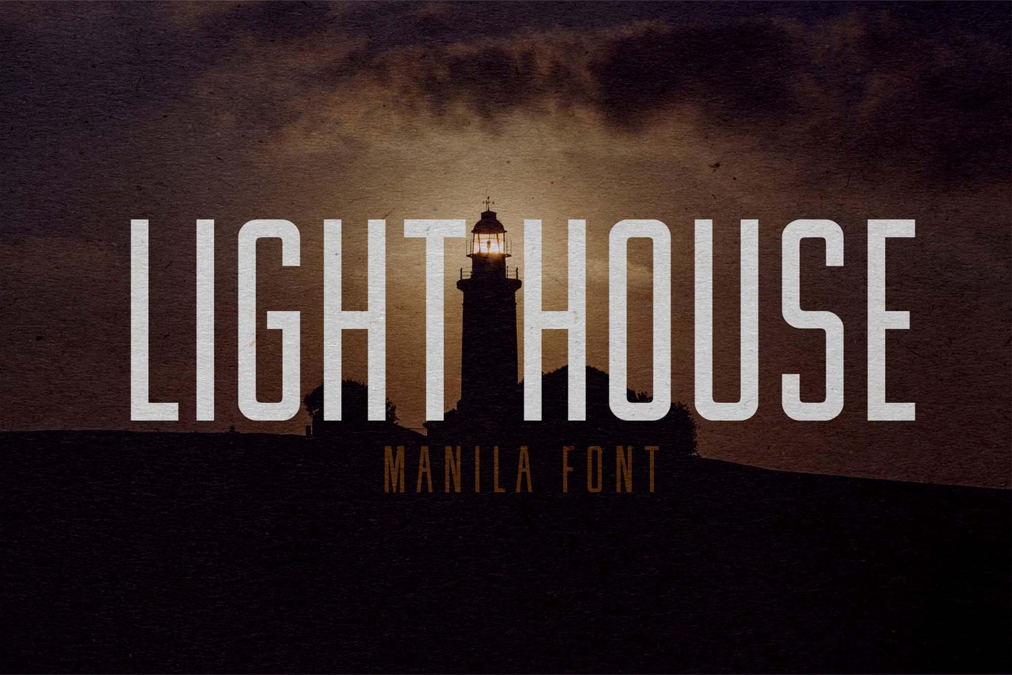 Manila Font 2