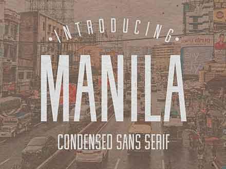 Manila Font