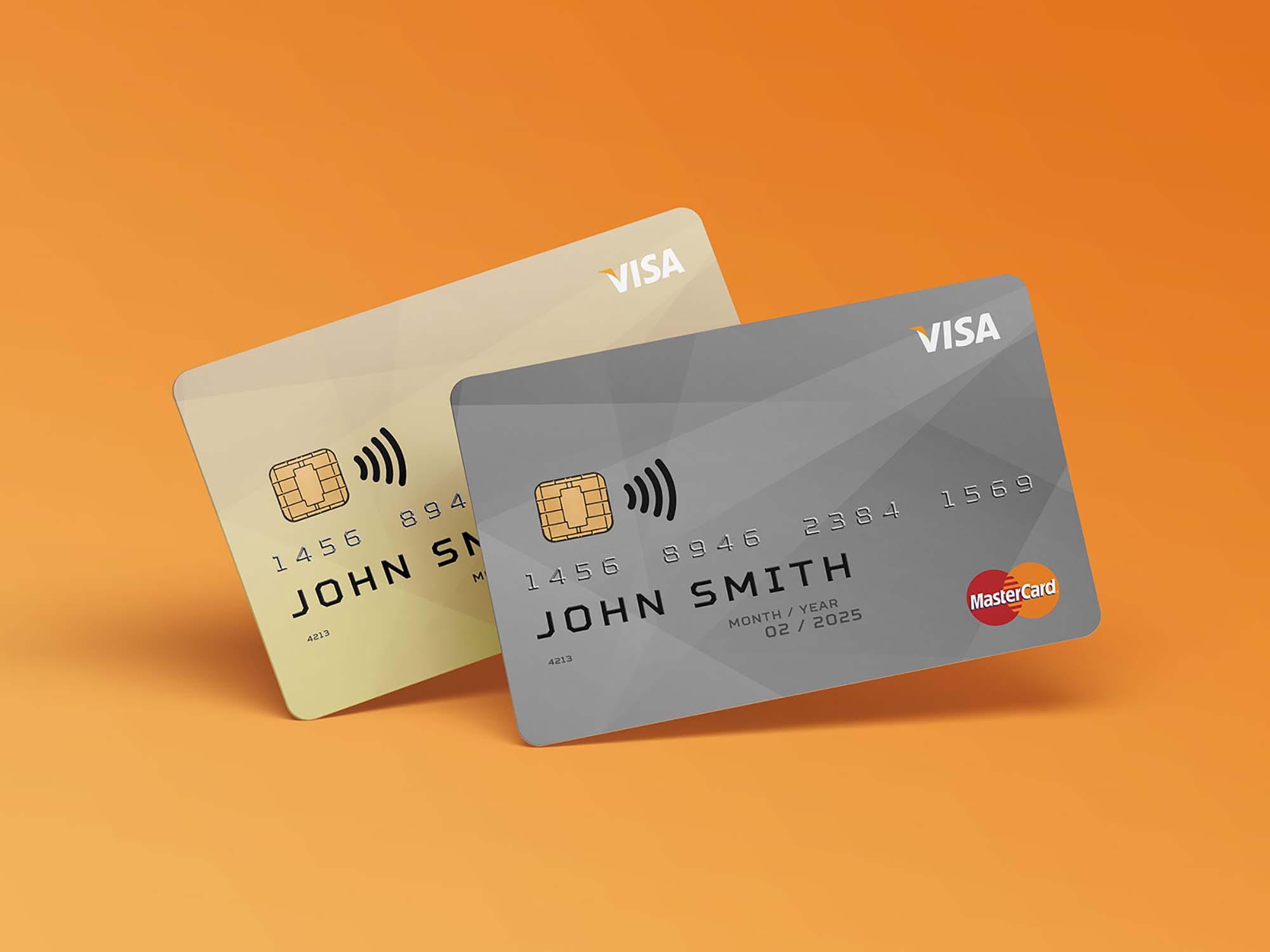 Membership Cards Mockup 2
