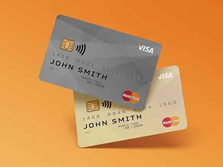 Membership Cards Mockup