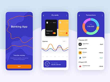Mobile Banking App Template