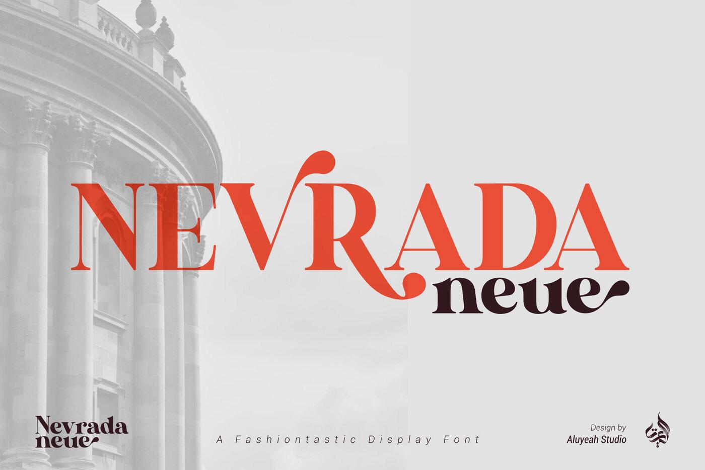 Nevrada Neue Font 4