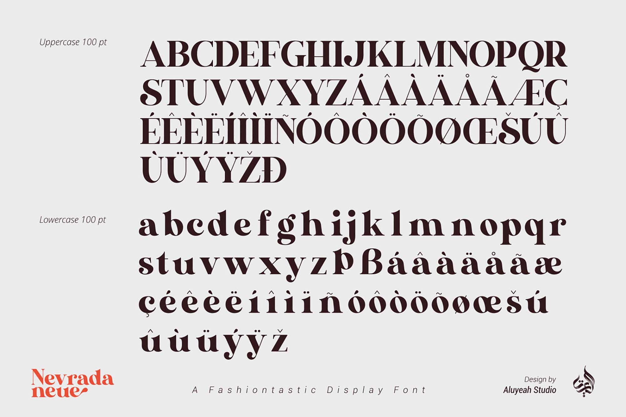 Nevrada Neue Font 9