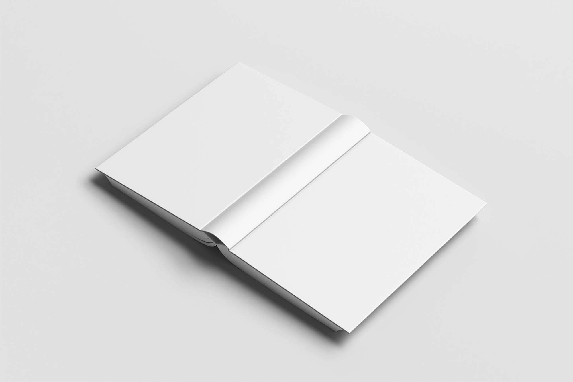 Open Cover Book Mockup 2
