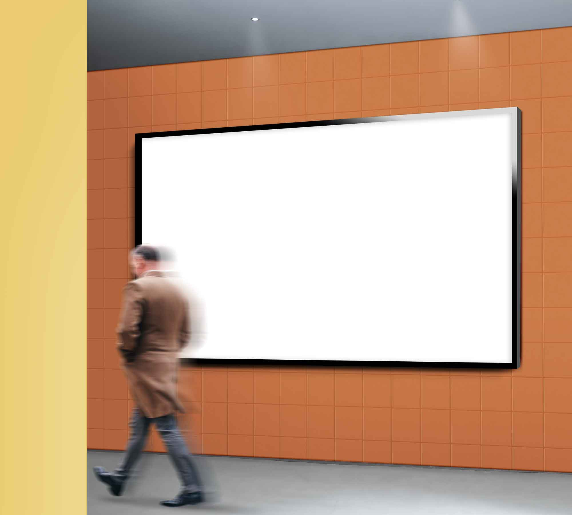 Outdoor Billboard Mockup 2