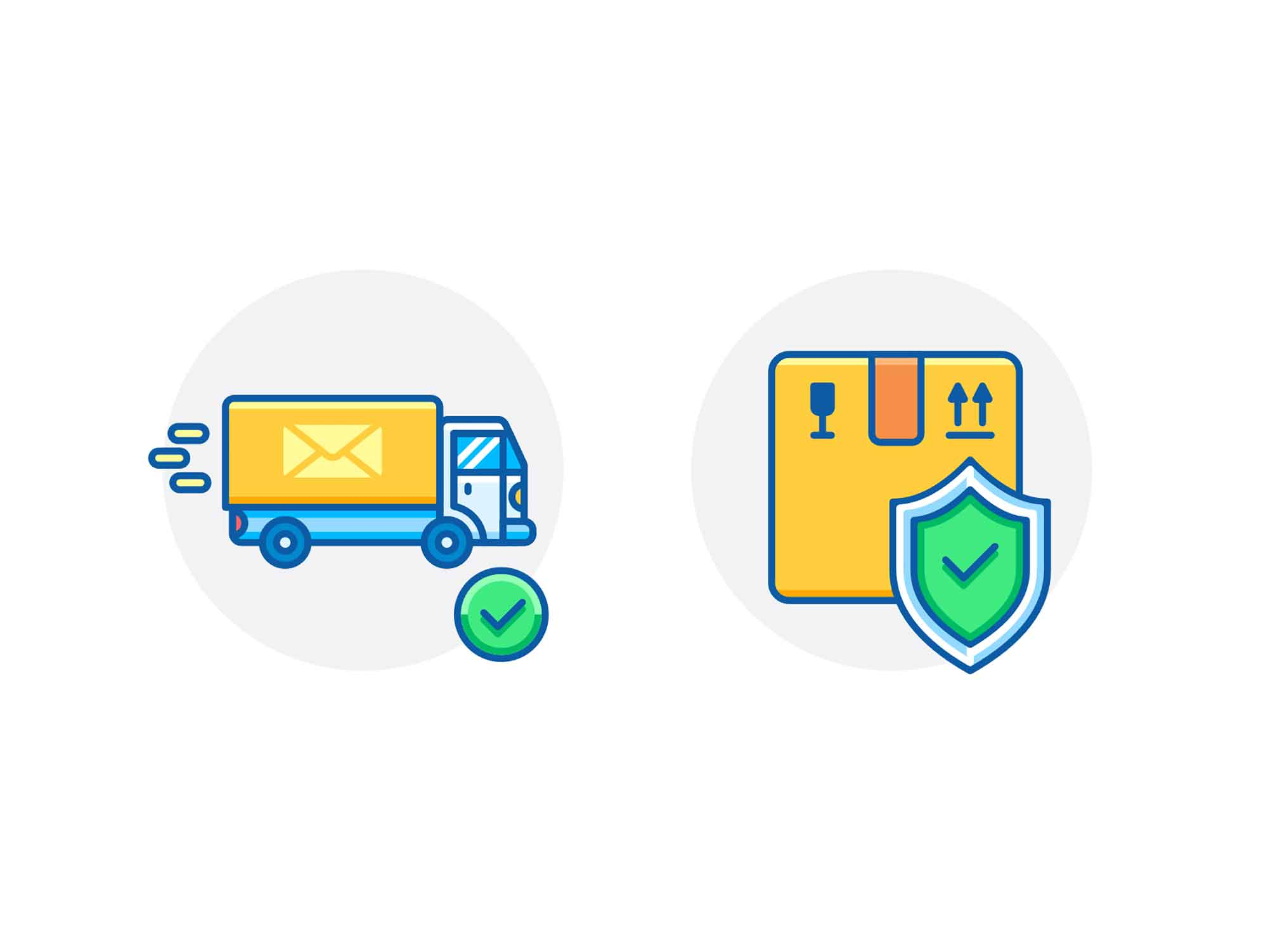 Package Insurance Icons