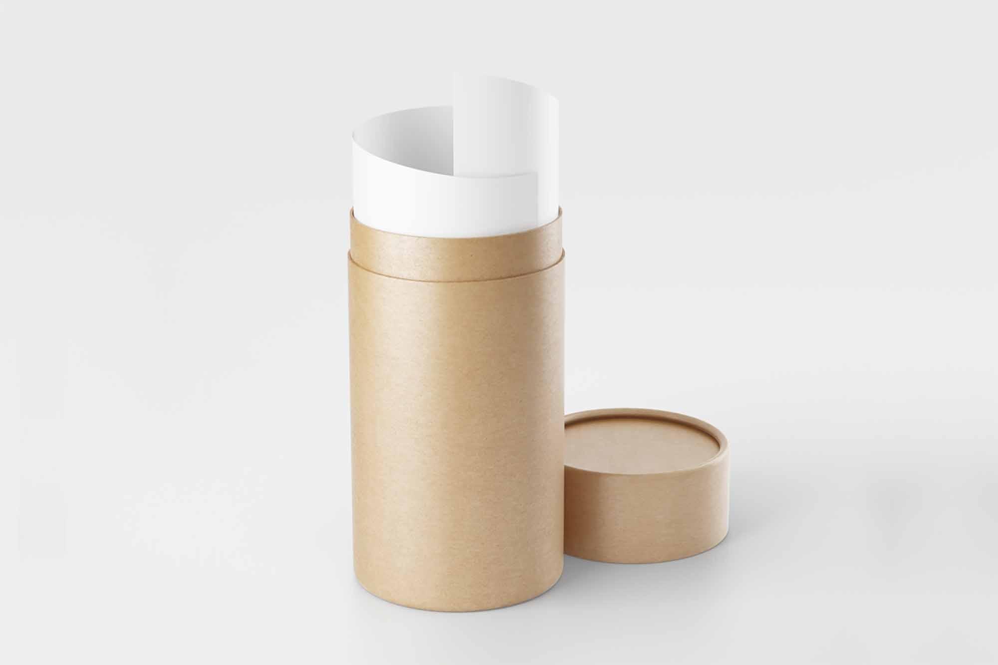 Paper Tube Mockup 2