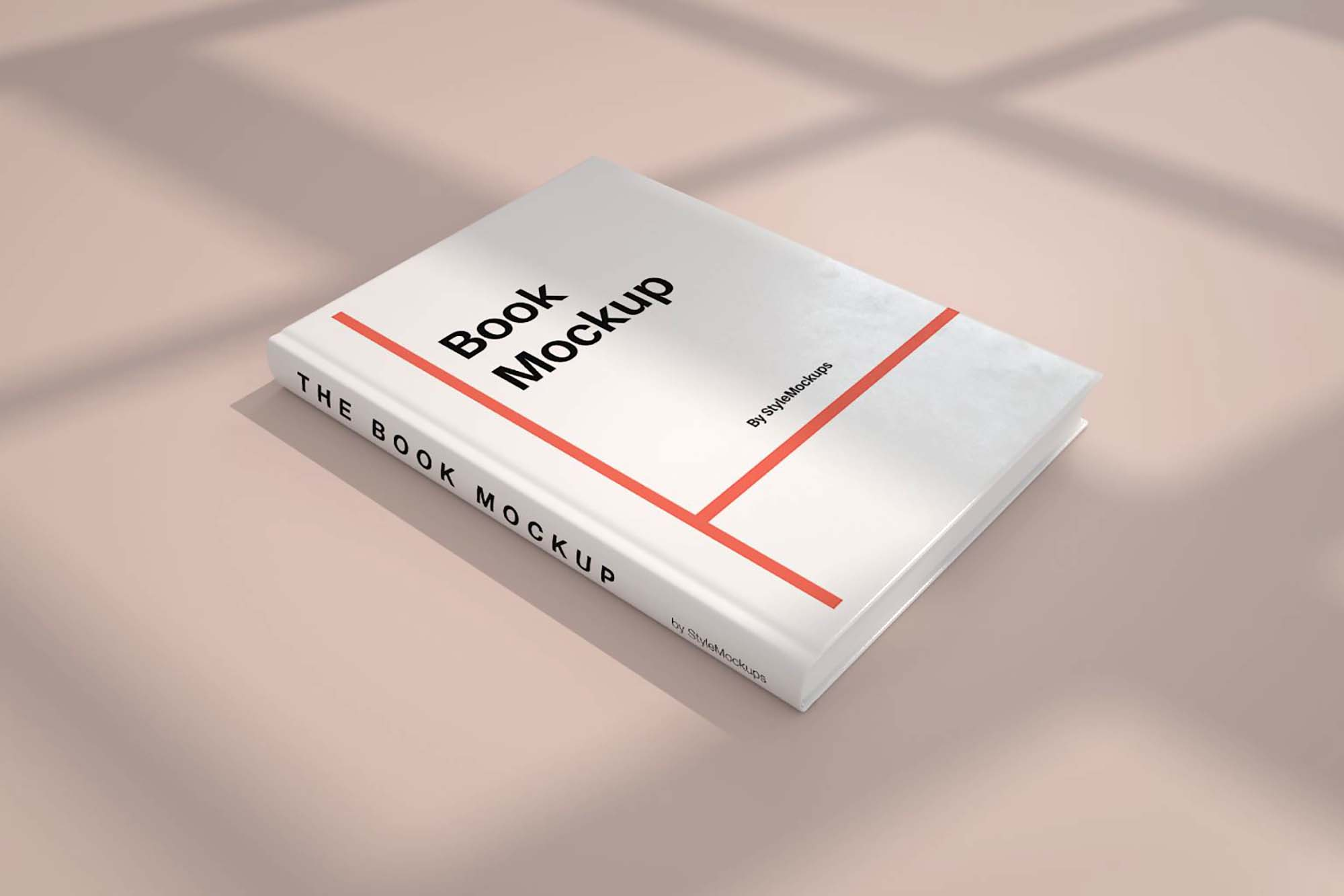 Perspective Book Mockup