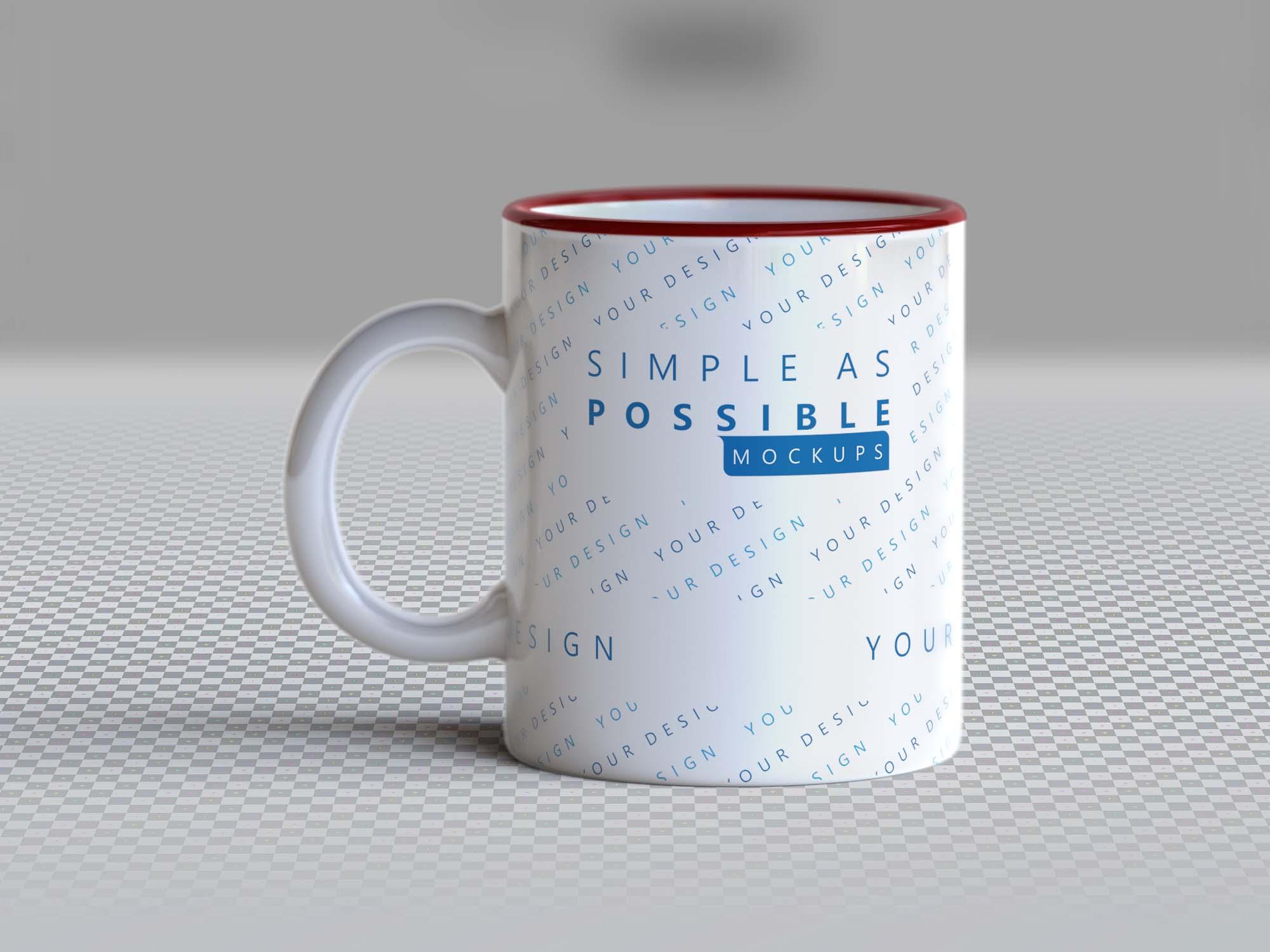 Photo-realistic Mug Mockup