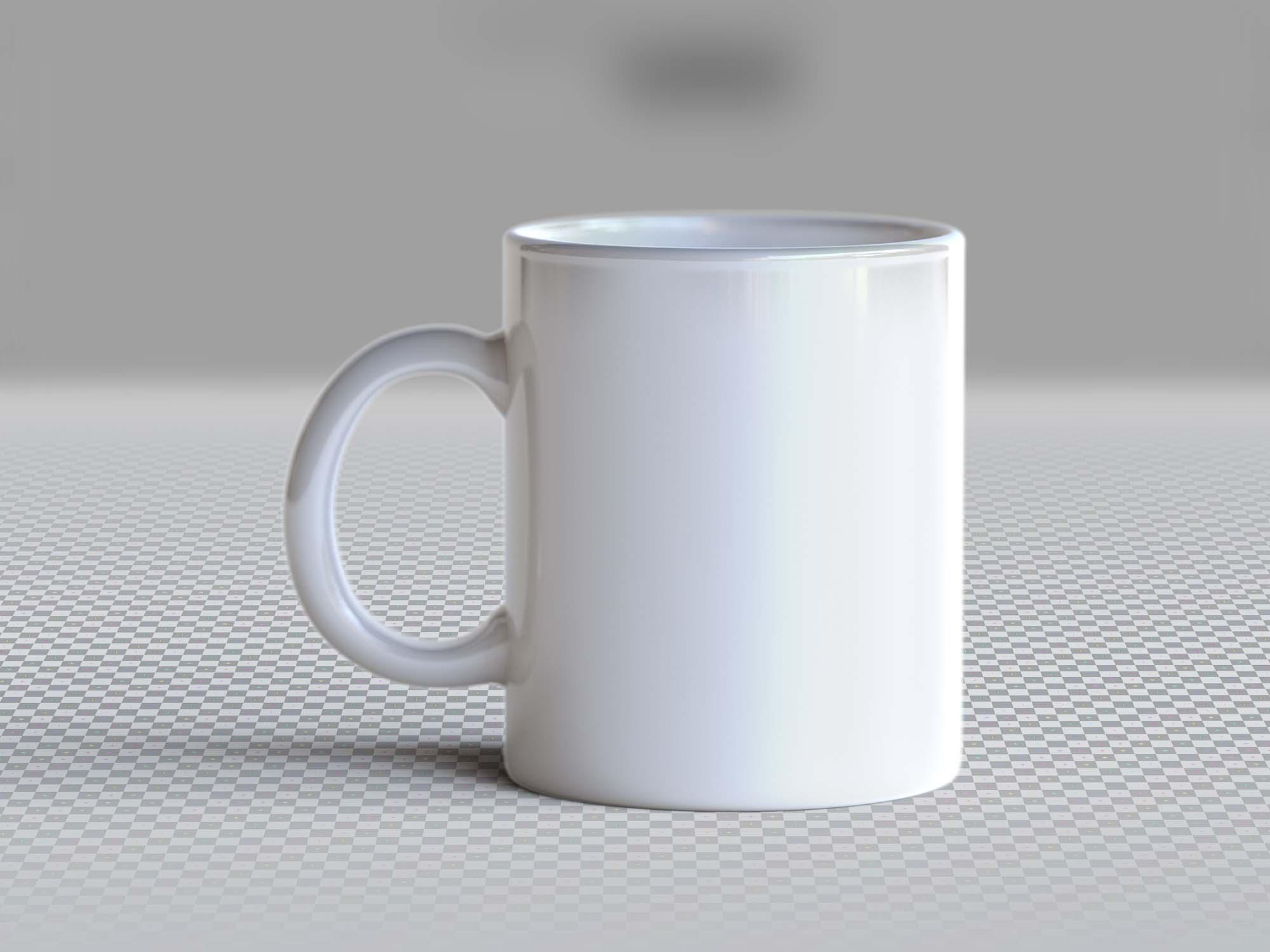 Photo-realistic Mug Mockup 2