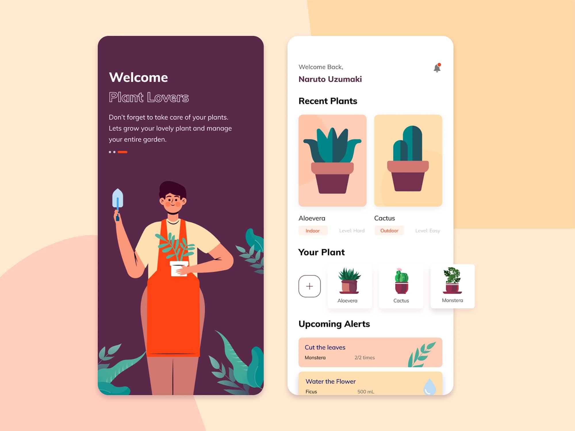 Plant Care App Template