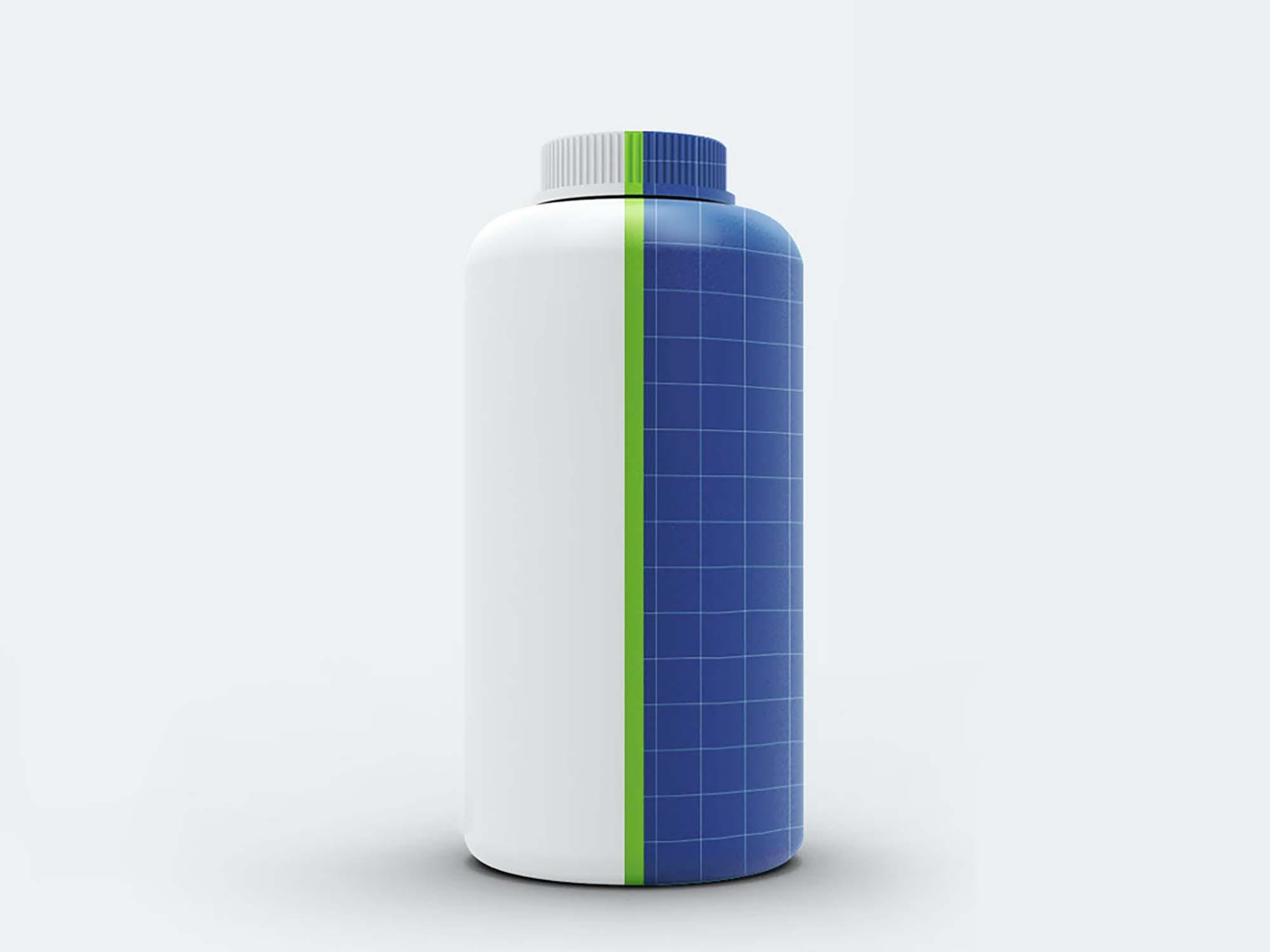 Plastic Bottle Mockup 2