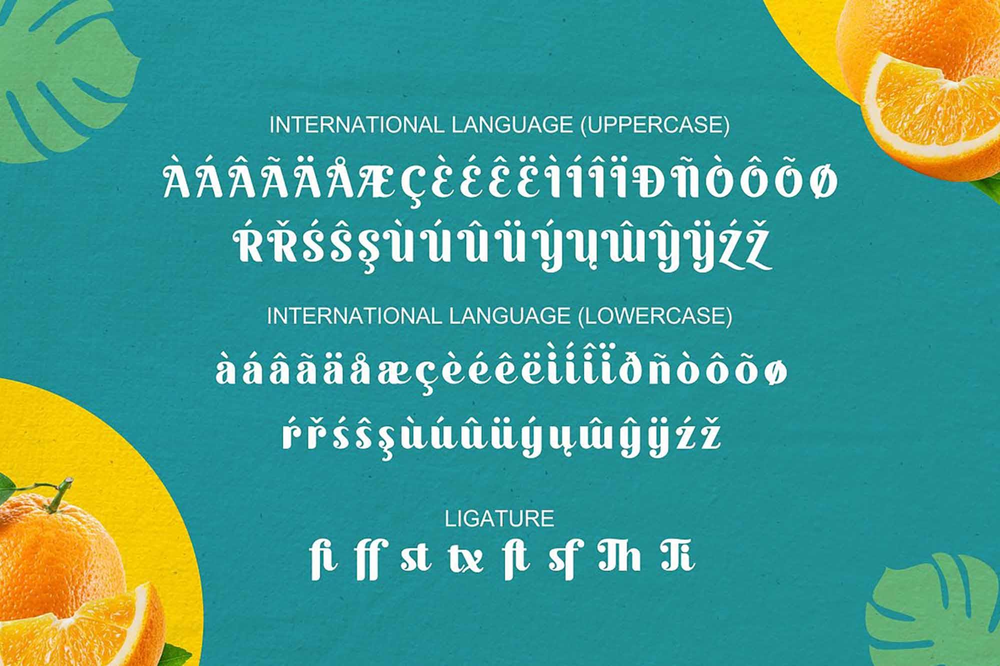 Quacker Sans Serif Font 7