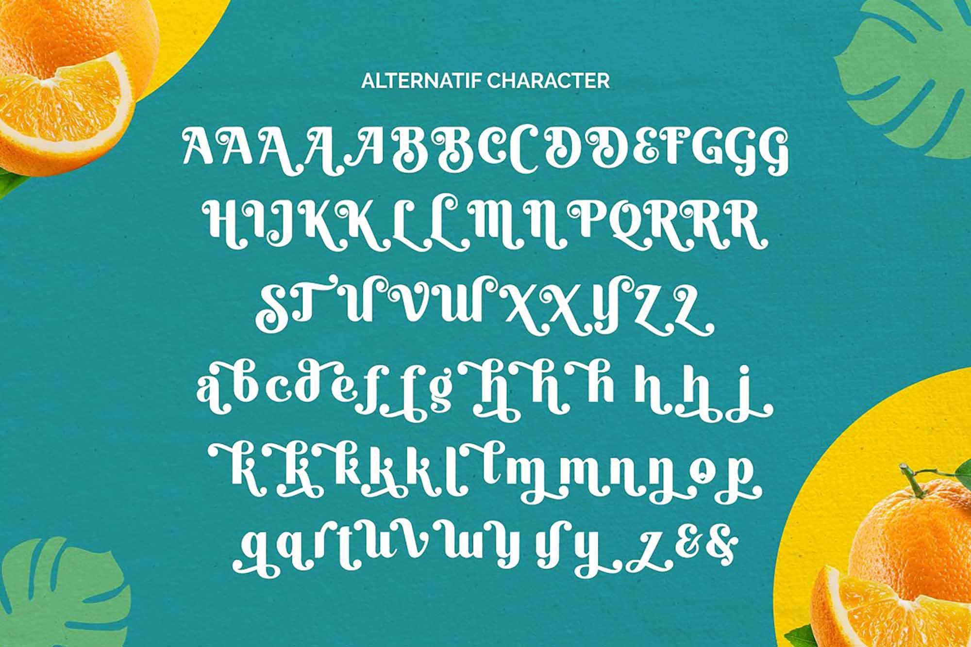 Quacker Sans Serif Font 8