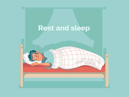 Rest and Sleep Illustration