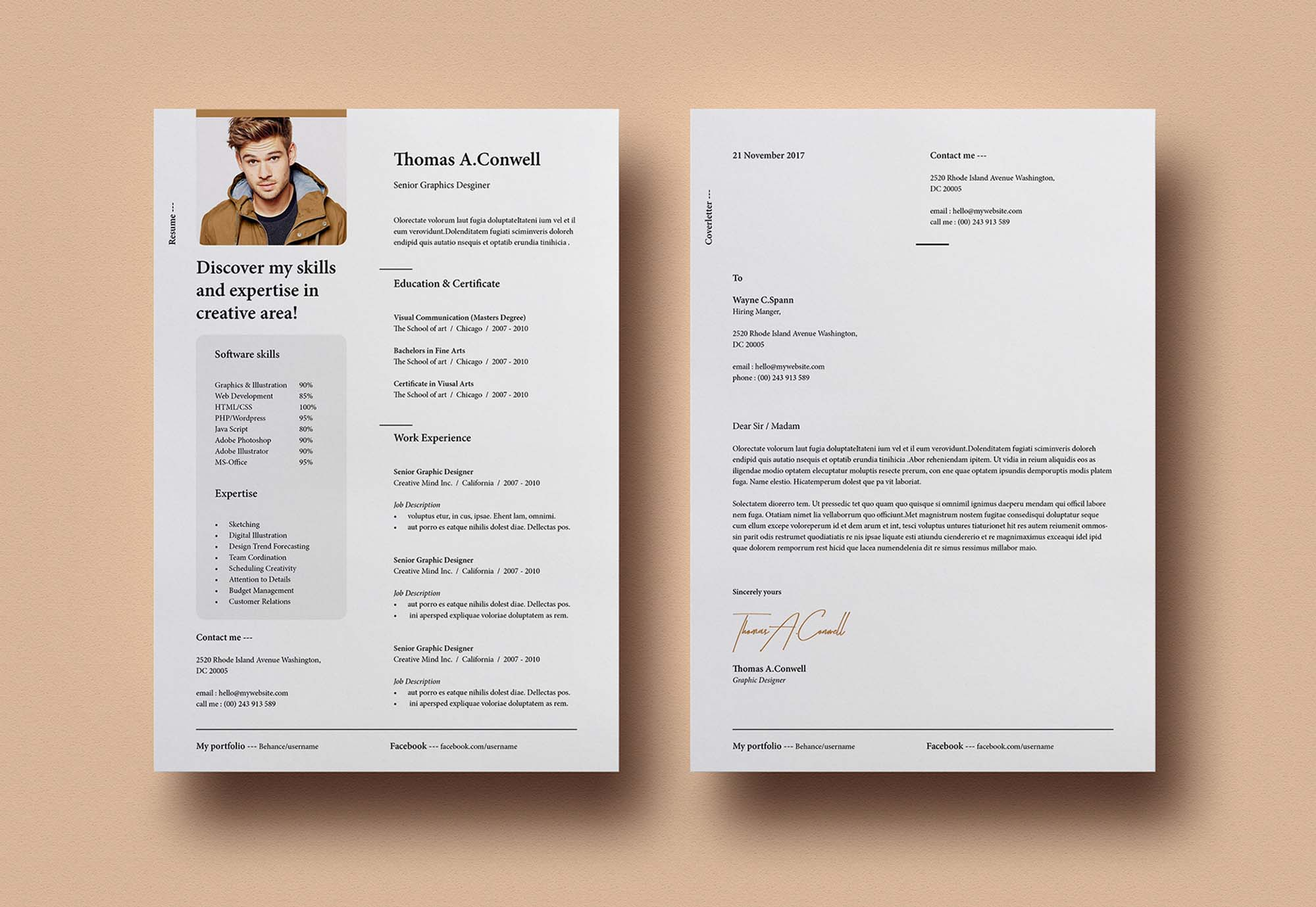 Resume Template Vol 8 3