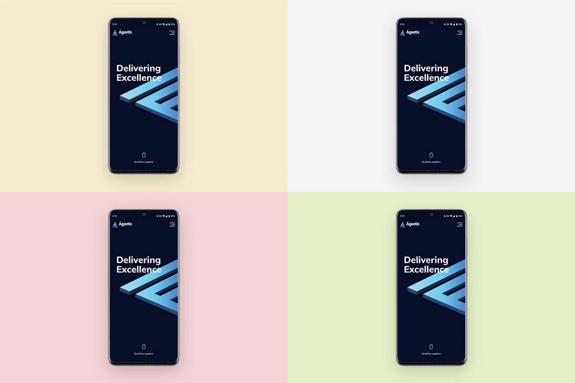 Samsung S20 Mockup 2