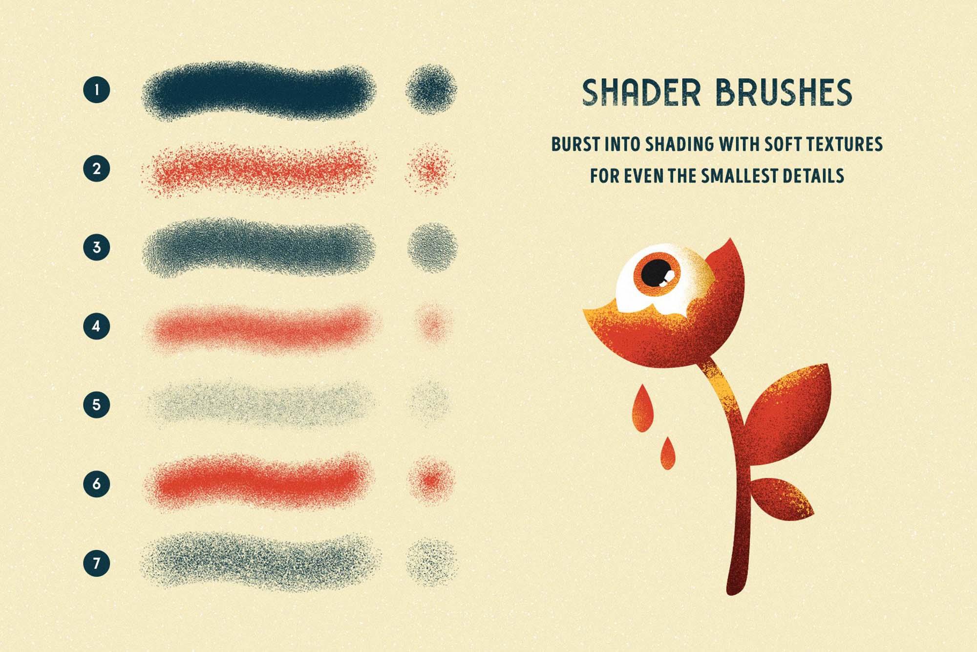 Shader Affinity Brushes 2