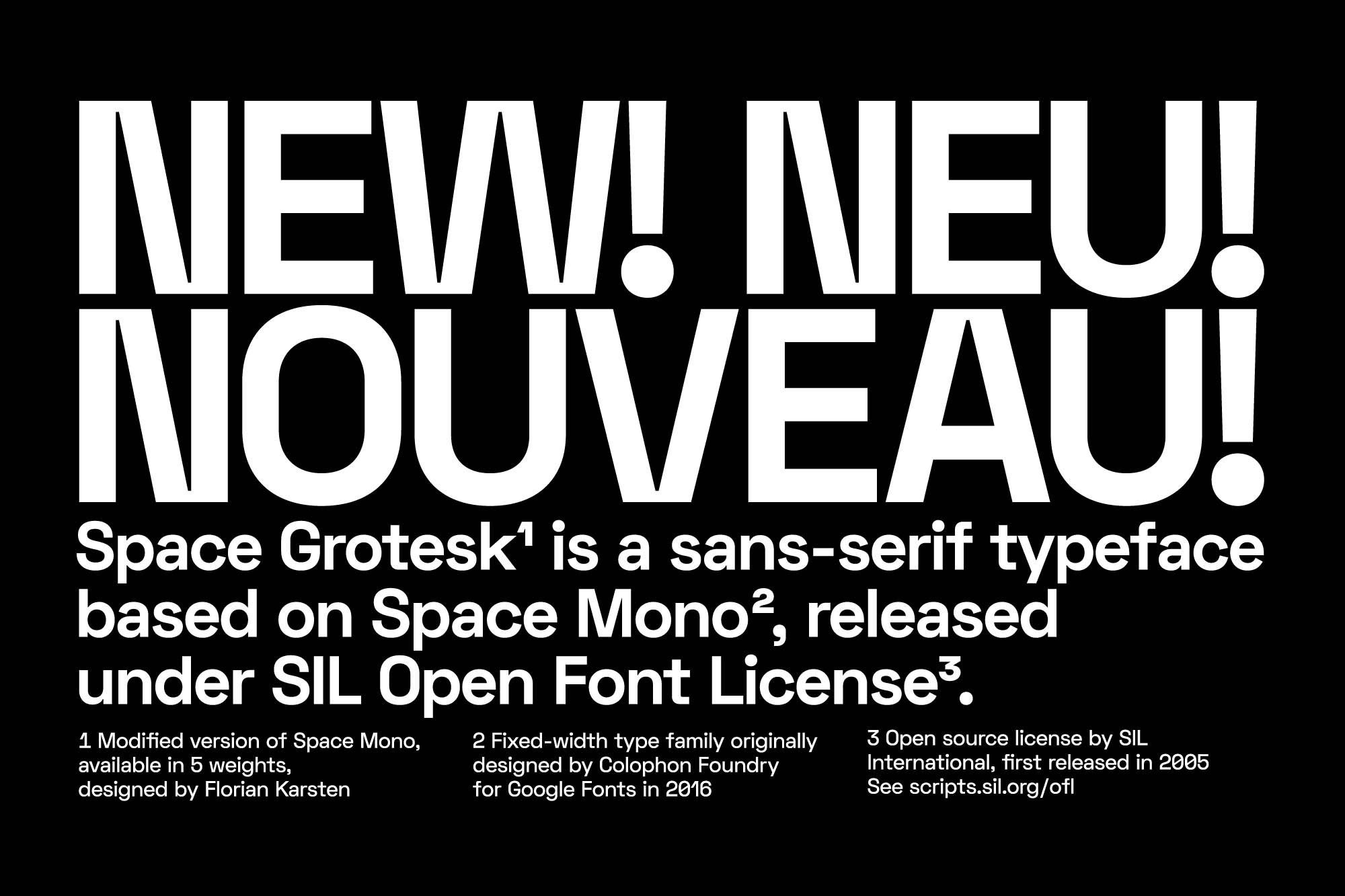 Space Grotesk Font