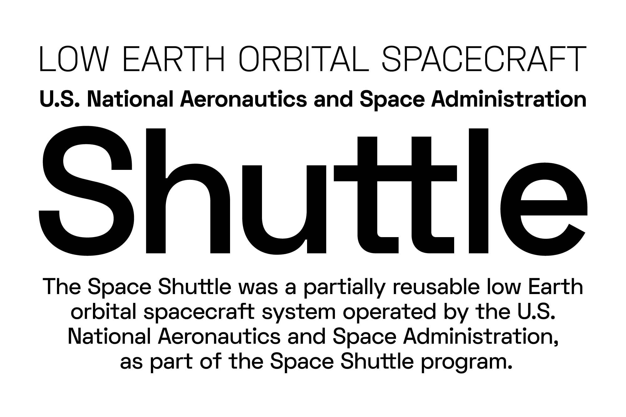 Space Grotesk Font 5