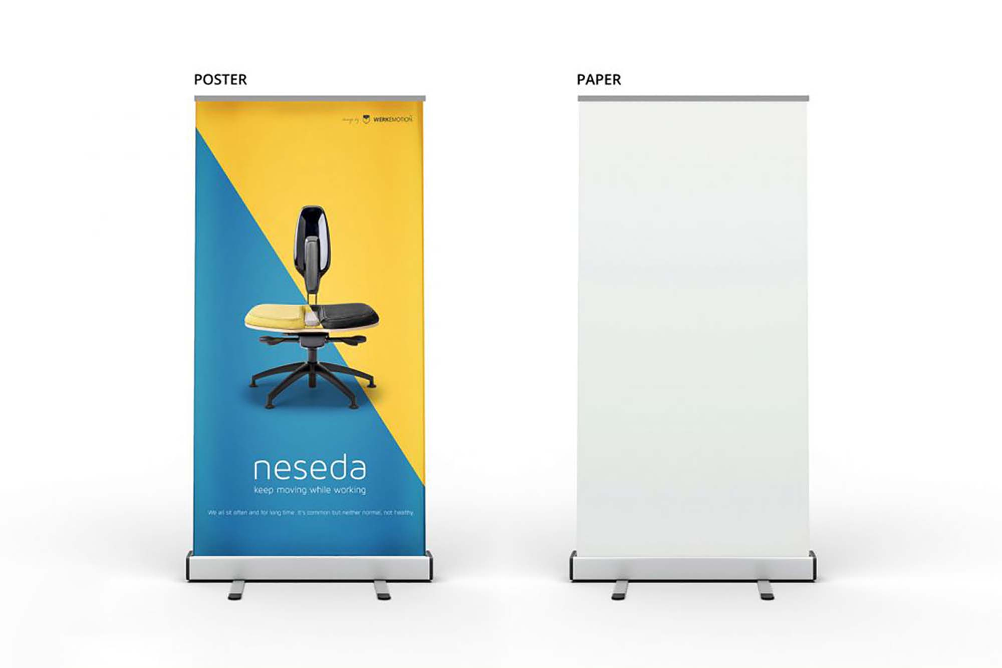Stand Rollup Banner Mockup 2