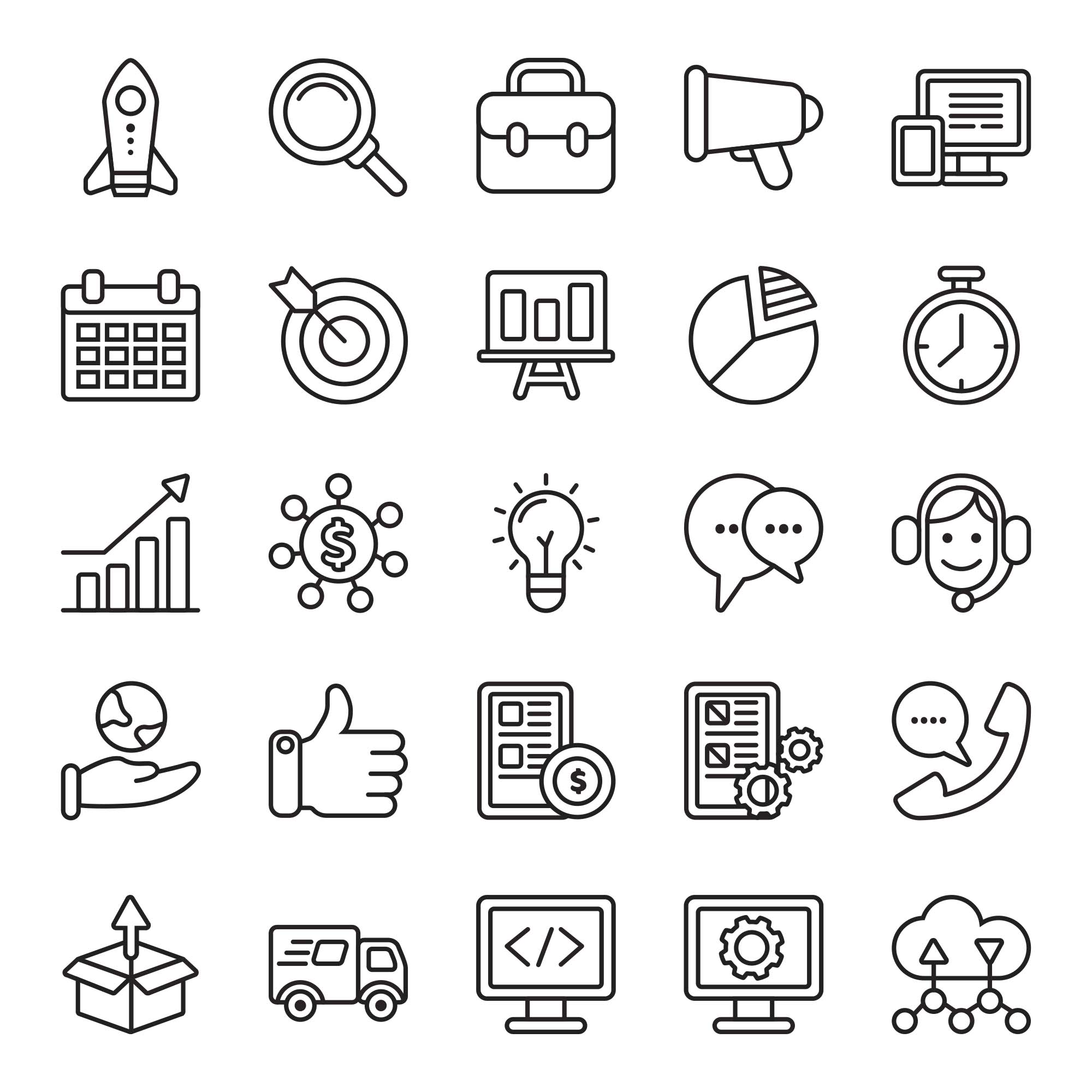 Startup Colored Icons 2