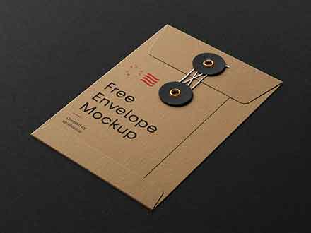 String Envelope Mockup