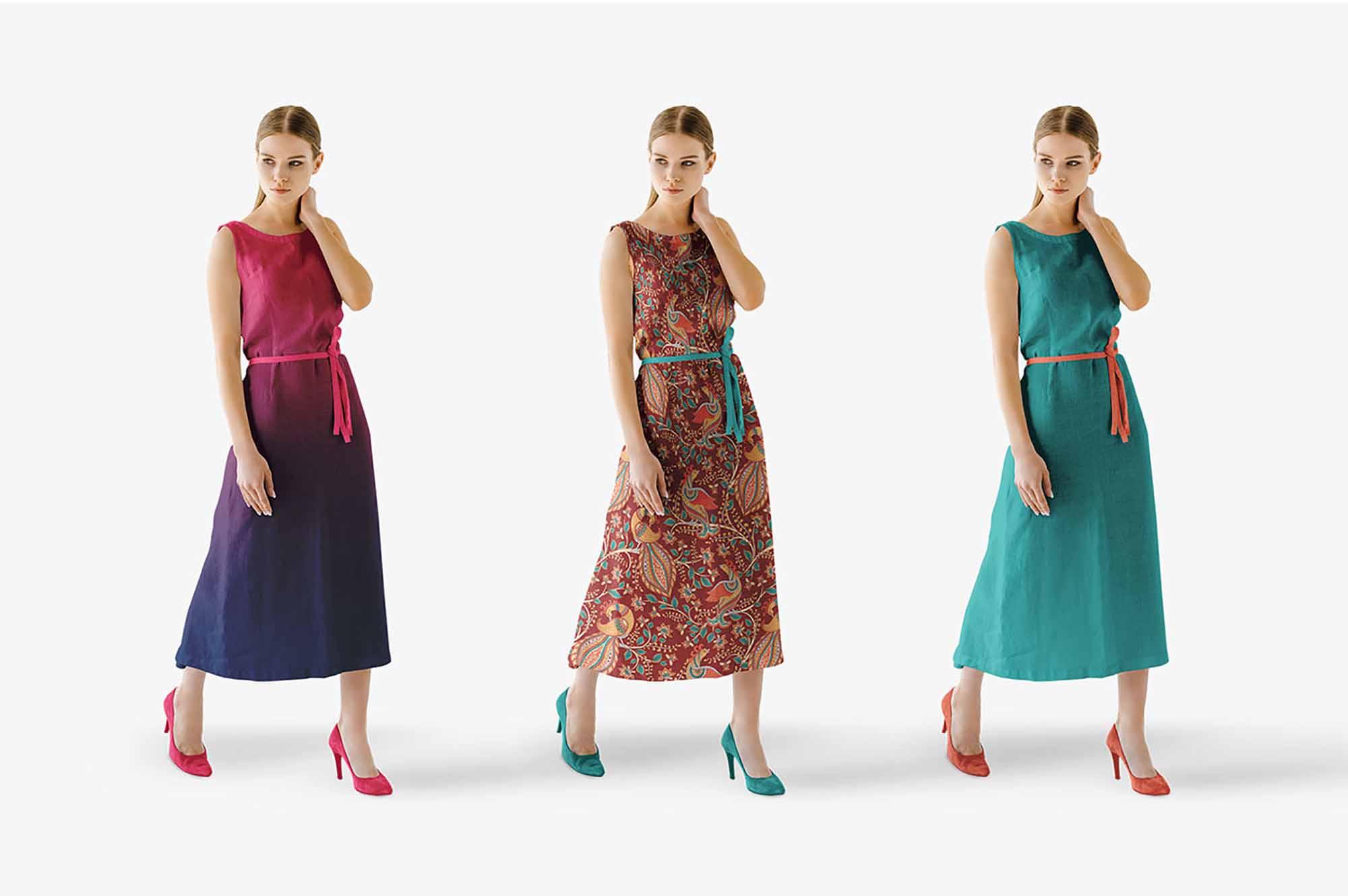 Summer Dress Mockup 3