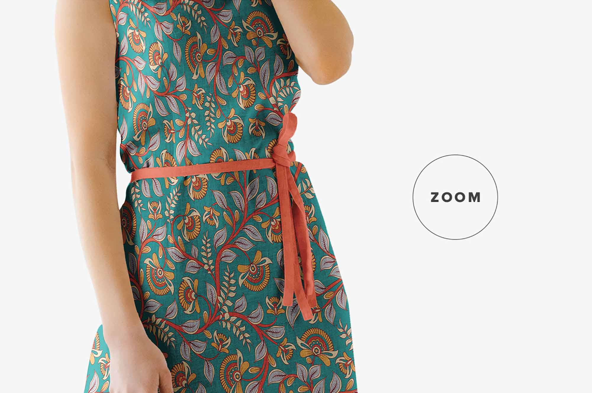 Summer Dress Mockup 4