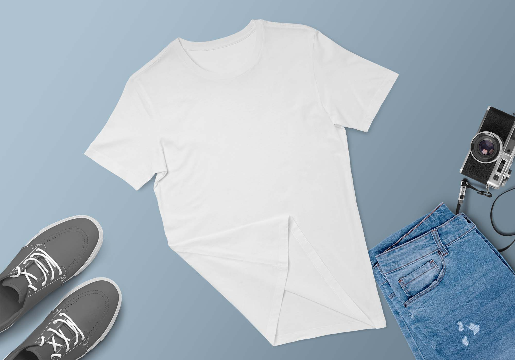 T-Shirt Apparel Scene Mockup 2