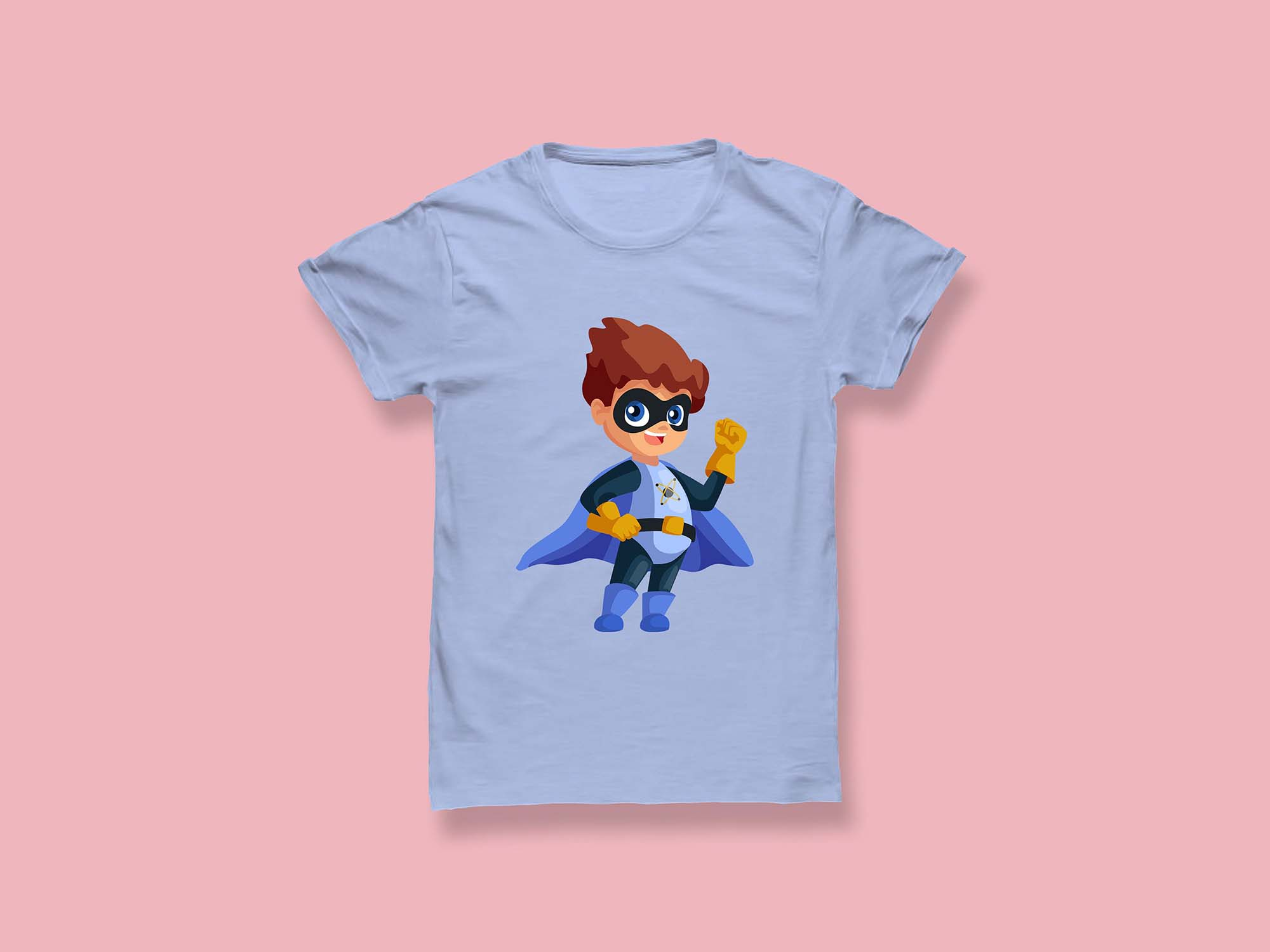 T-shirt Mockup For Men 2