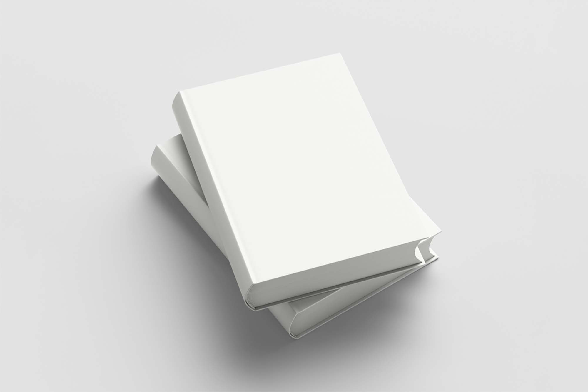 Two Hardcover Books Mockup 2
