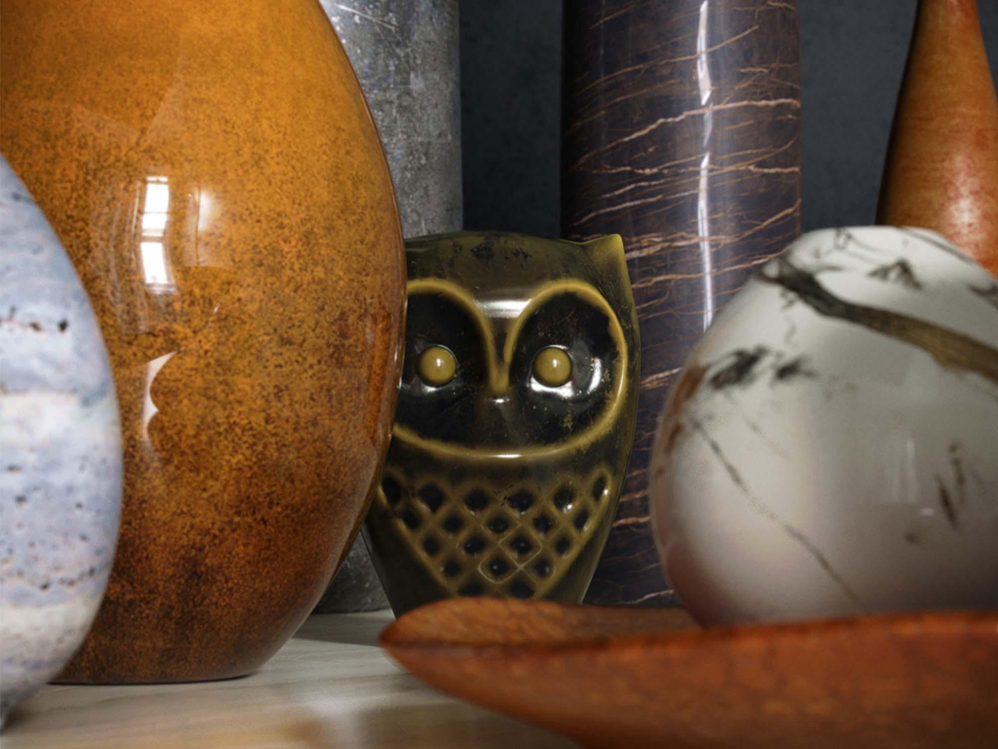 Vase Set 3D Models 2