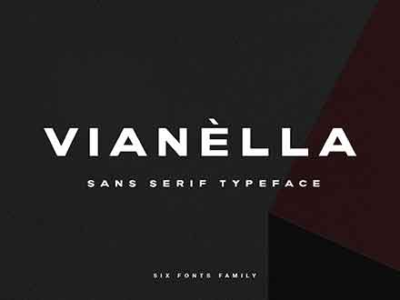 Vianella Extended Font Family