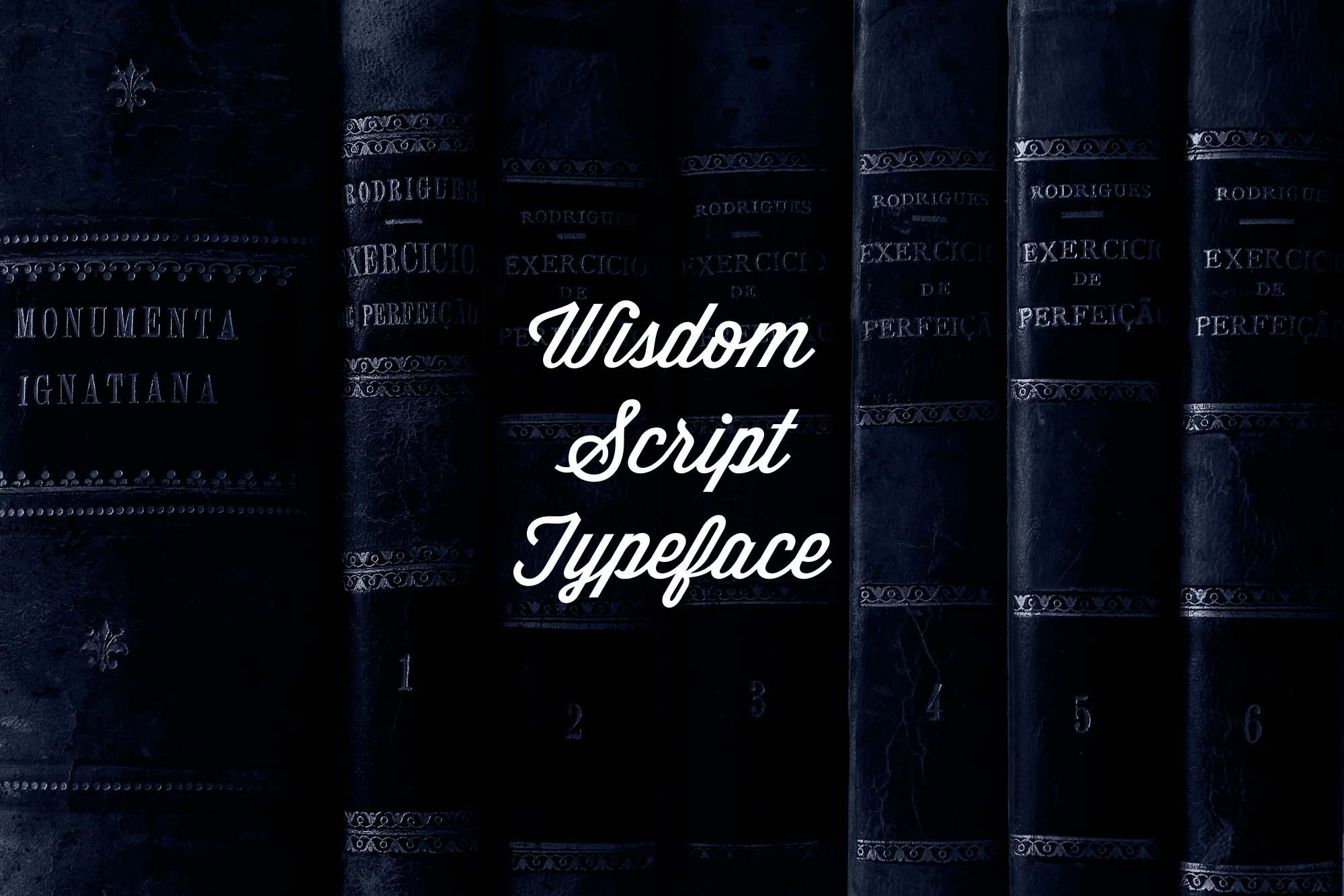 Wisdom Script Font 4