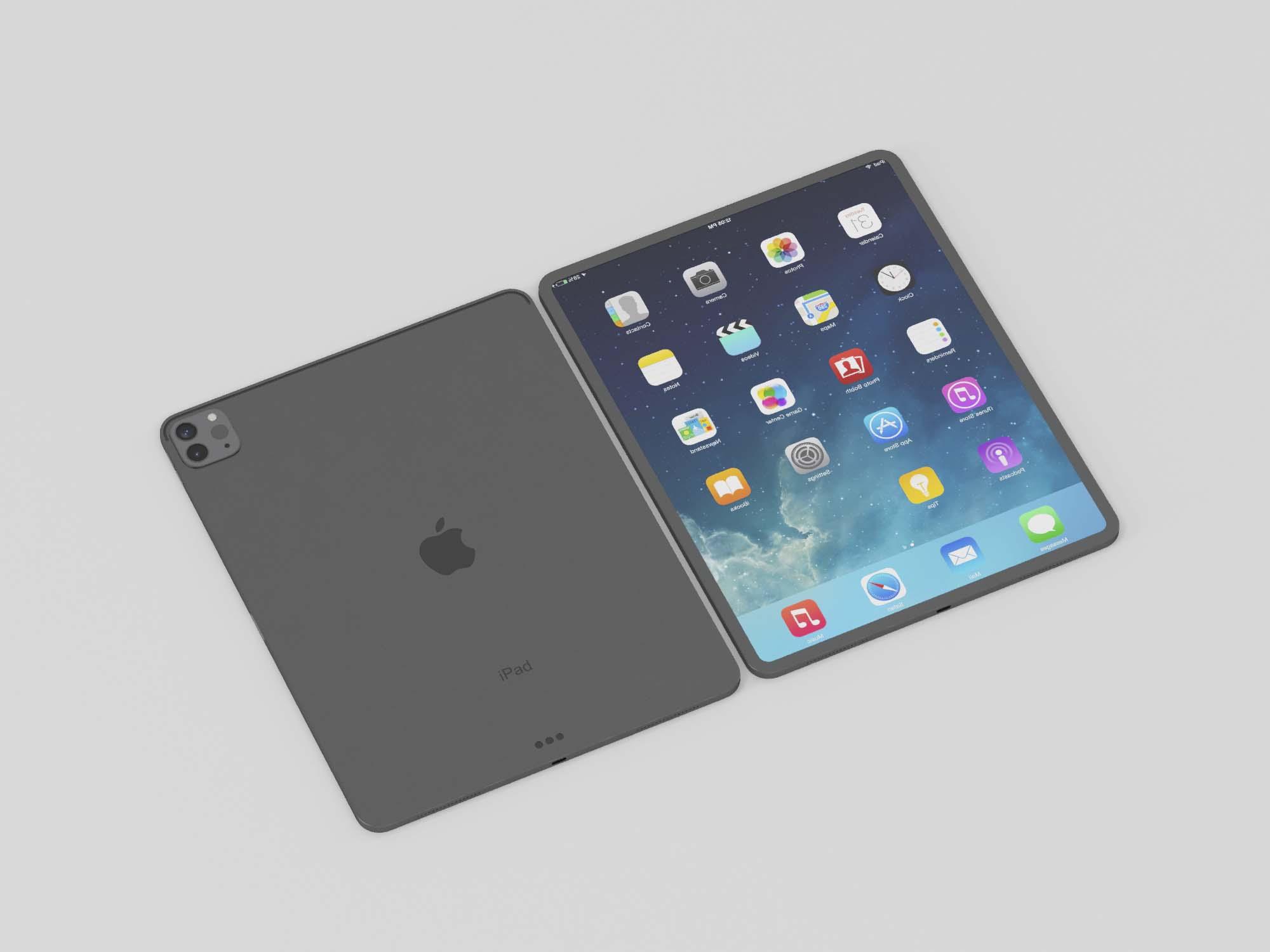 iPad Pro 3D Model 2