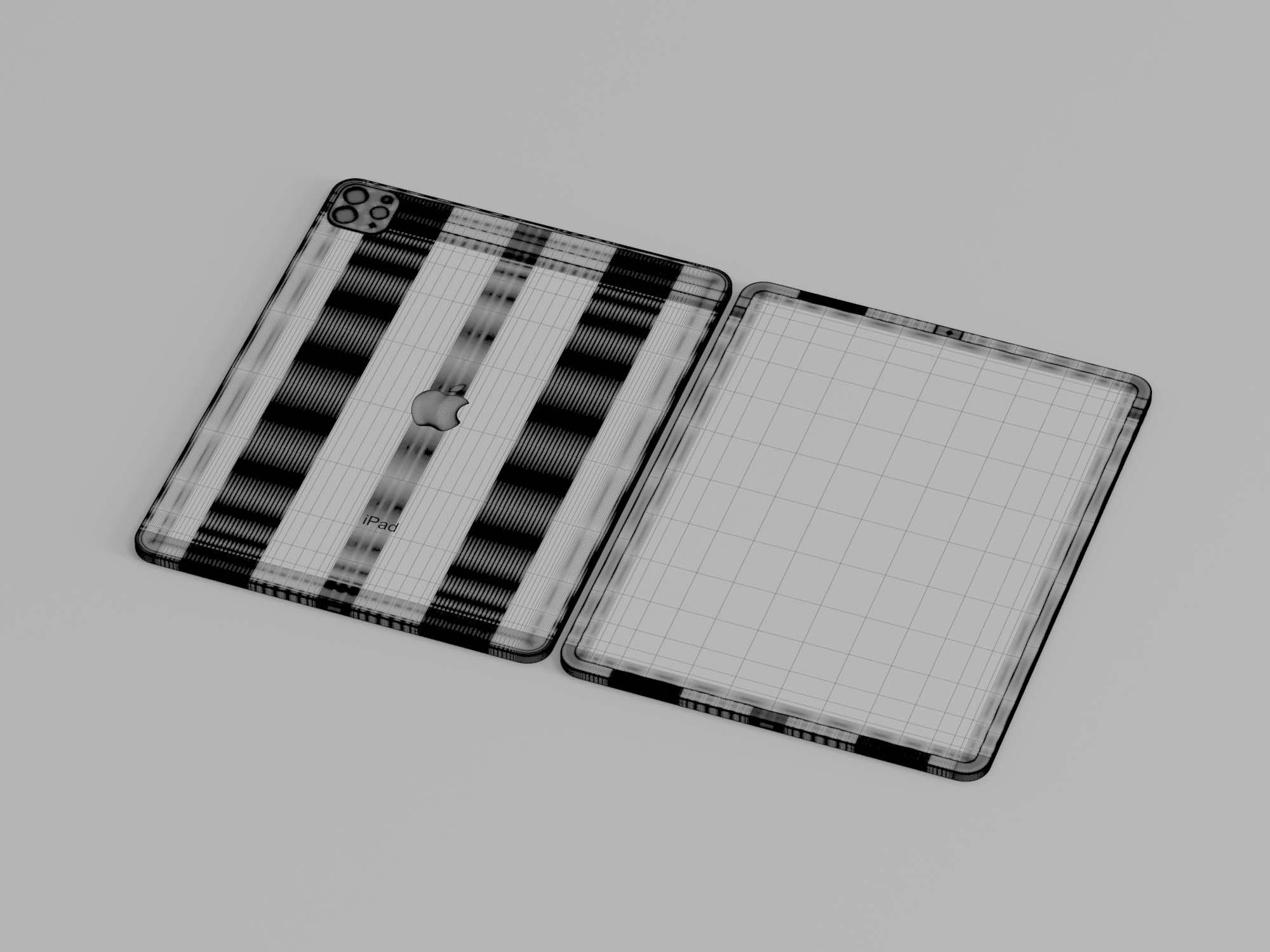 iPad Pro 3D Model 3