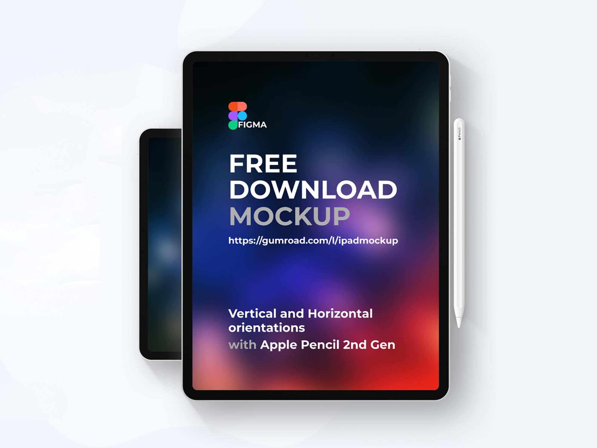 iPad Pro Figma Mockup