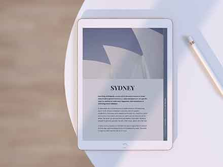 iPad Tablet Mockup