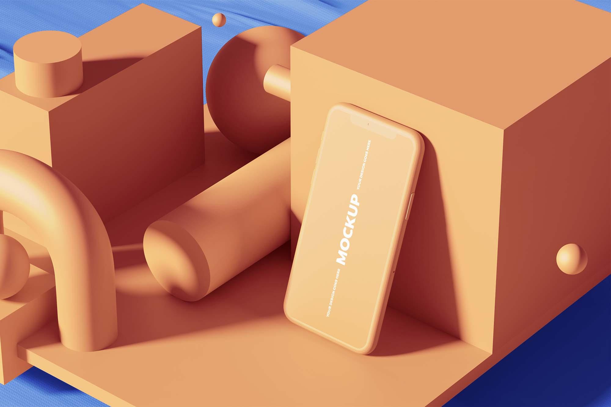 iPhone 11 3D Mockup