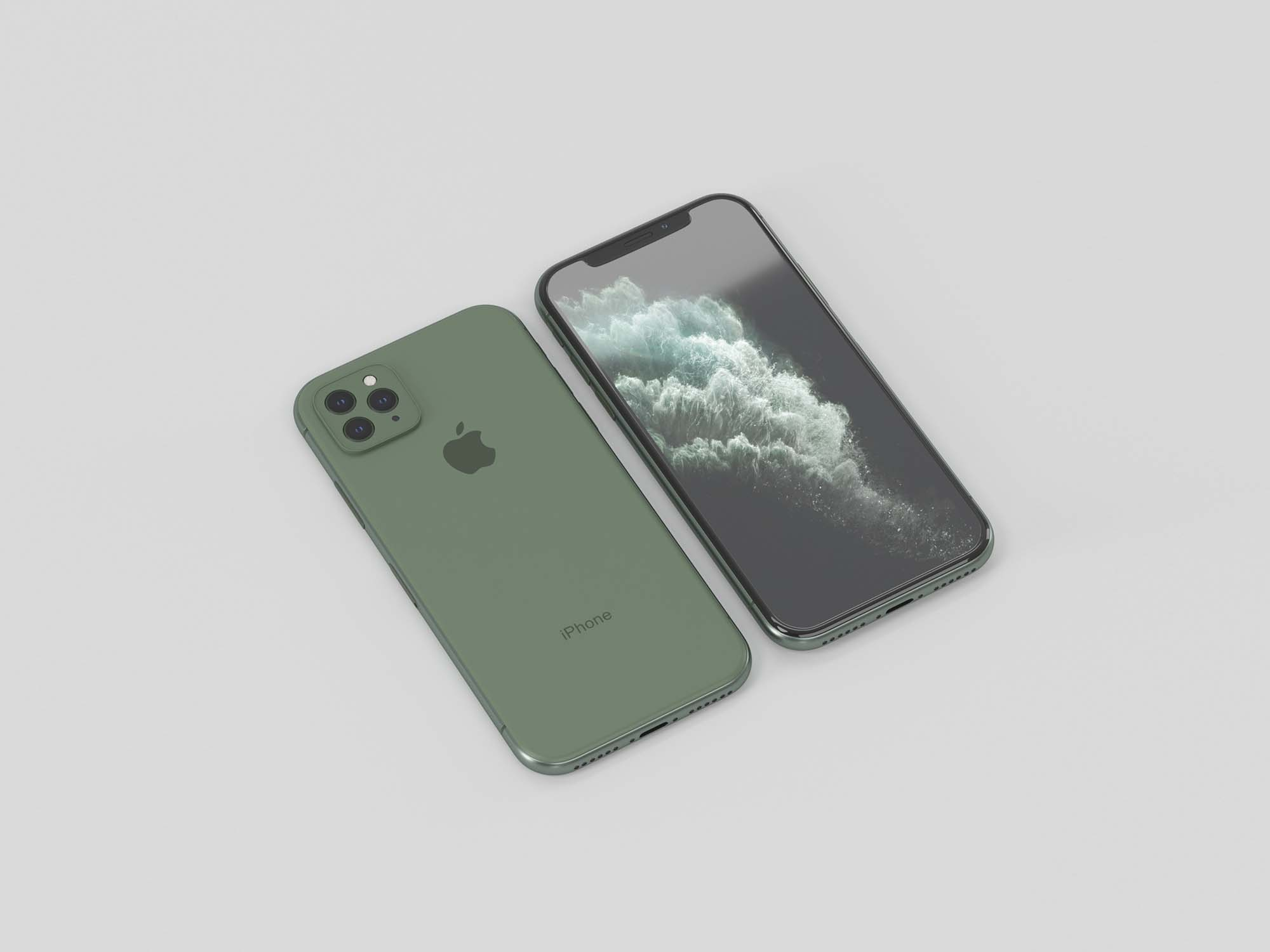 iPhone 11 Pro 3D Model 2