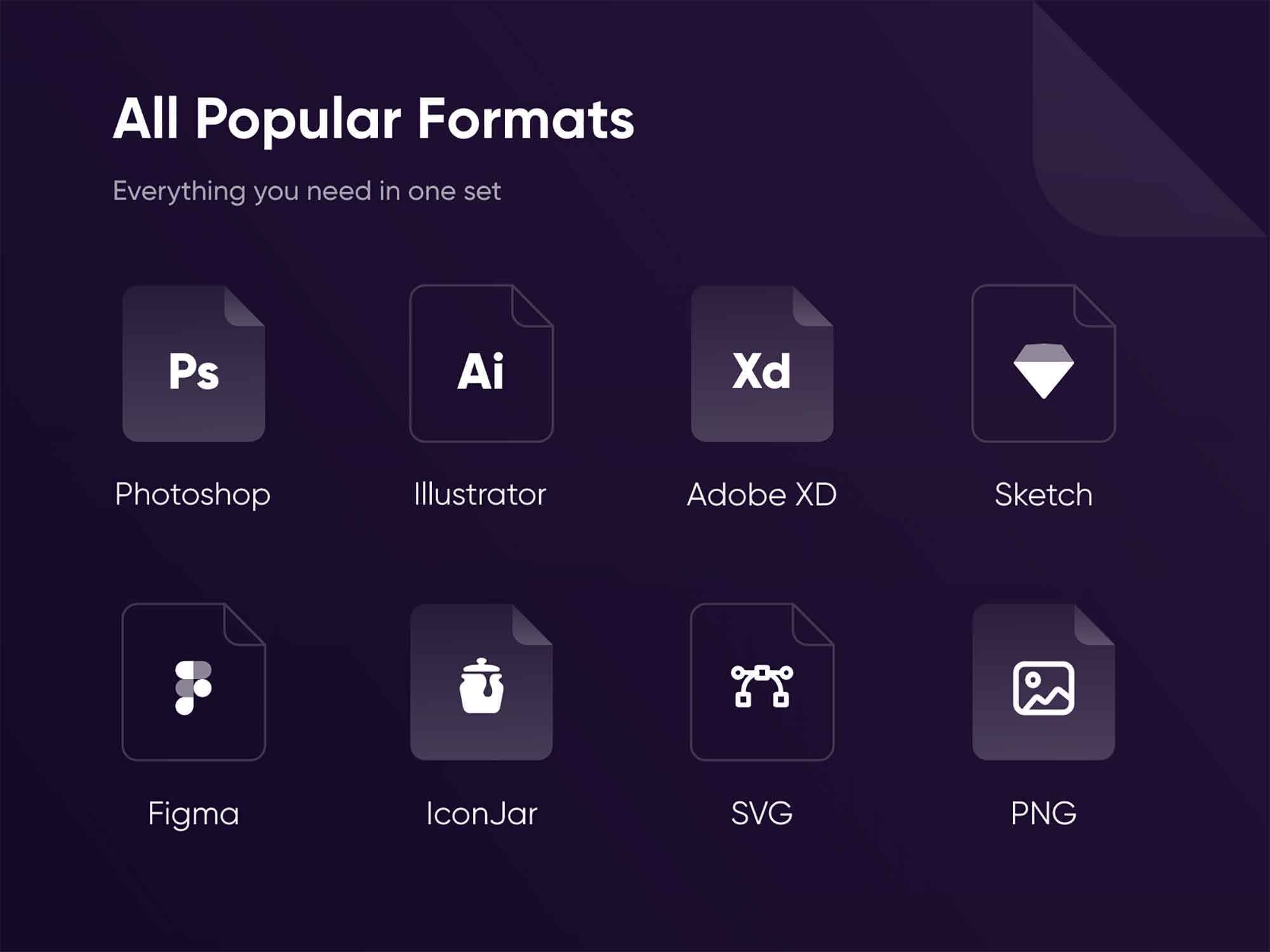 120+ Essential Icons 4
