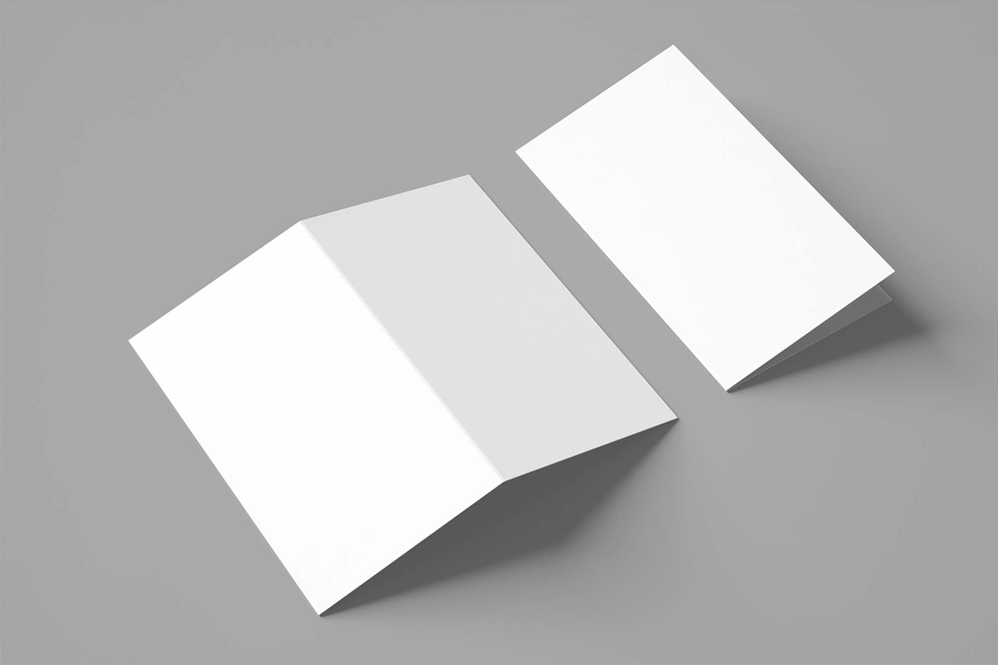 2-Fold Brochure Mockup 2