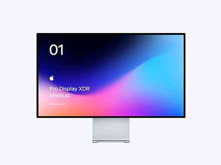 Apple Pro Display XDR Mockup
