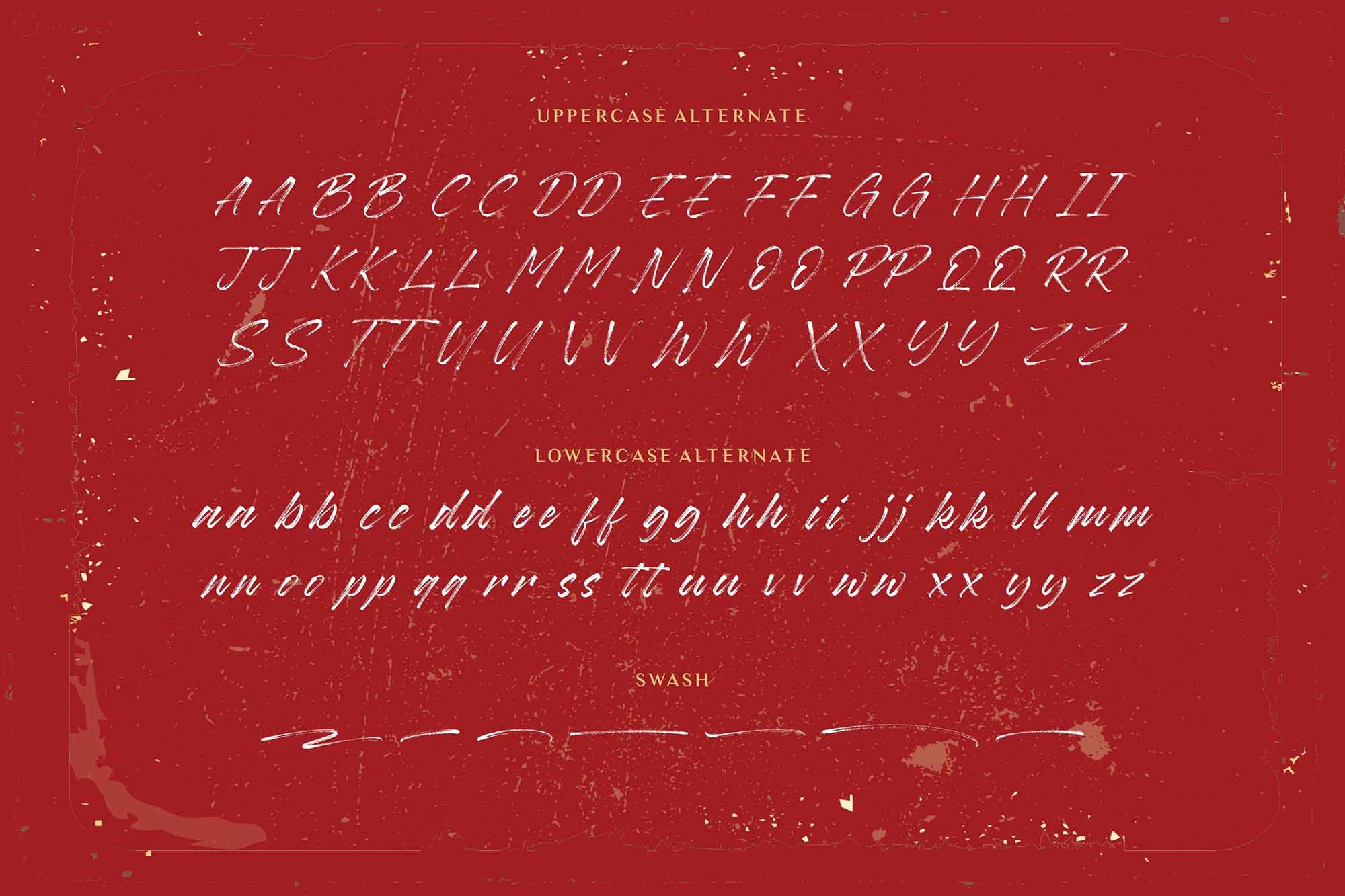 Baguette Brush Font 4