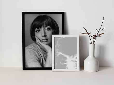 Black and White Photo Frame Mockups