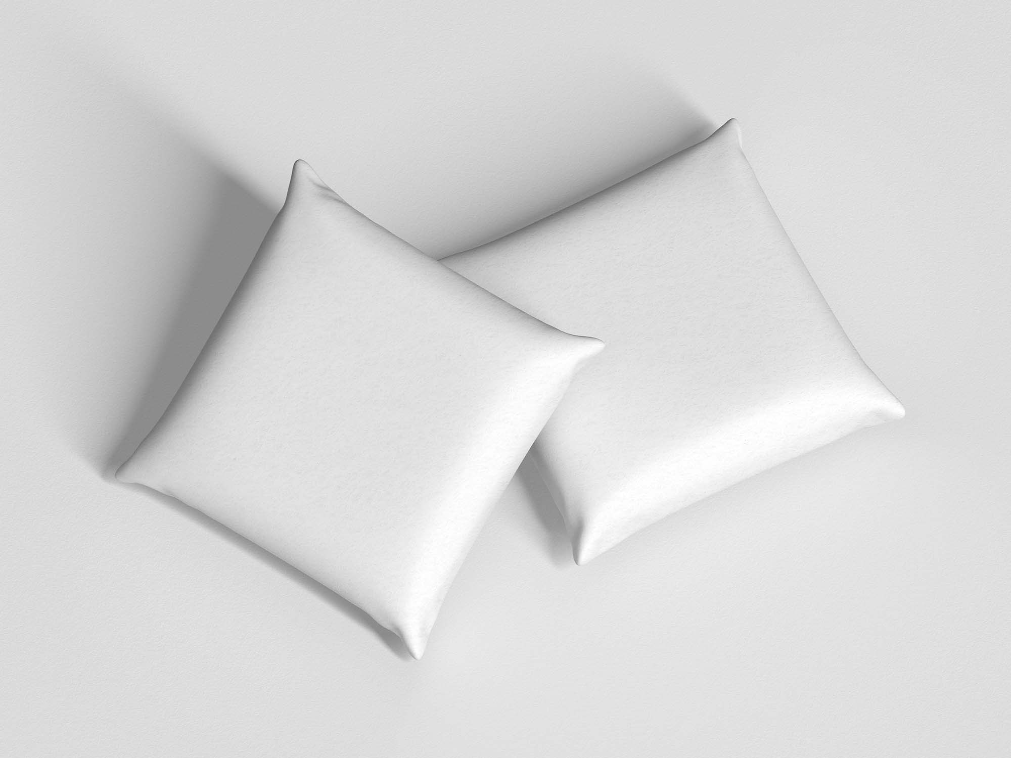 Branding Square Pillow Mockup 2