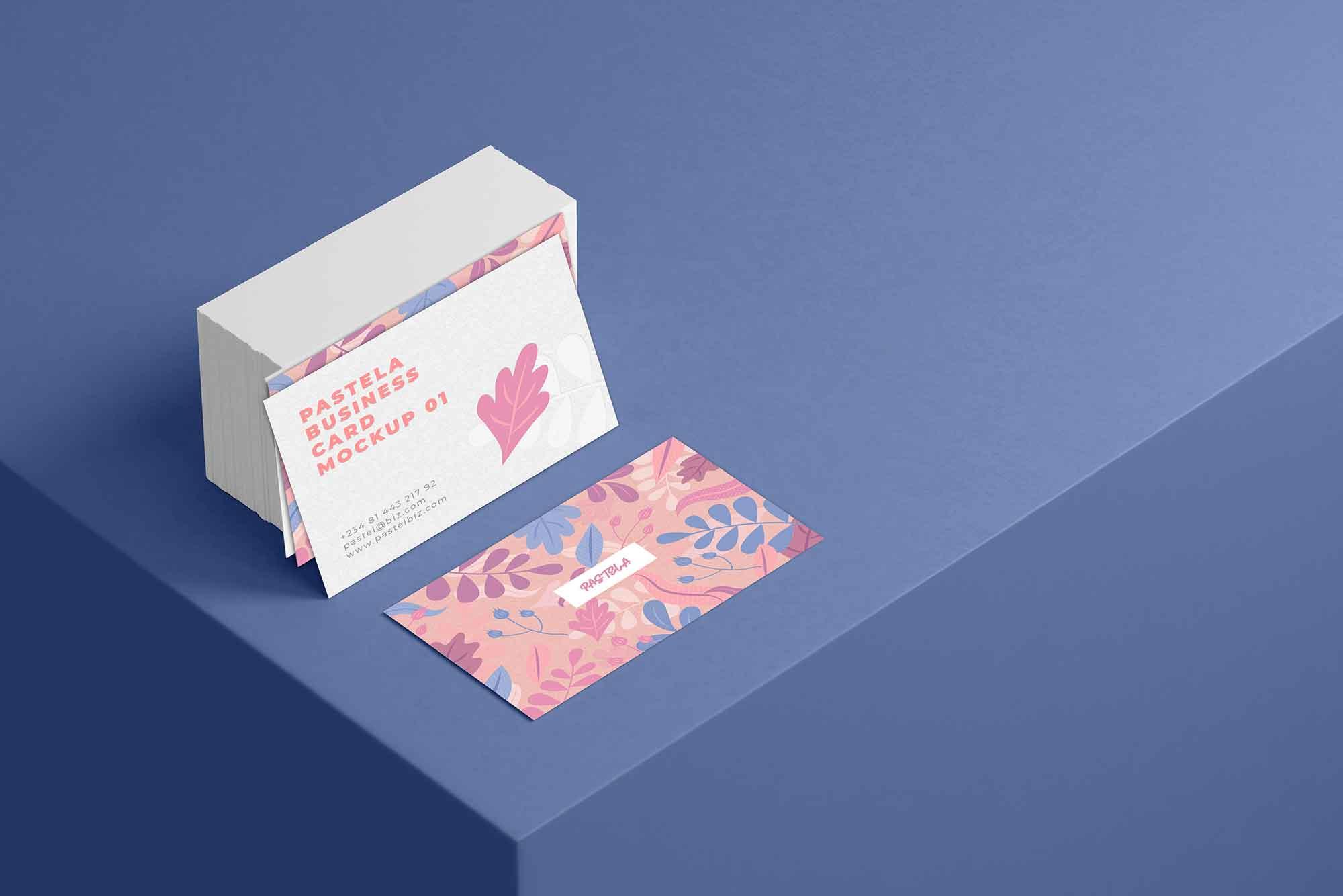 Business Card Mockup 10