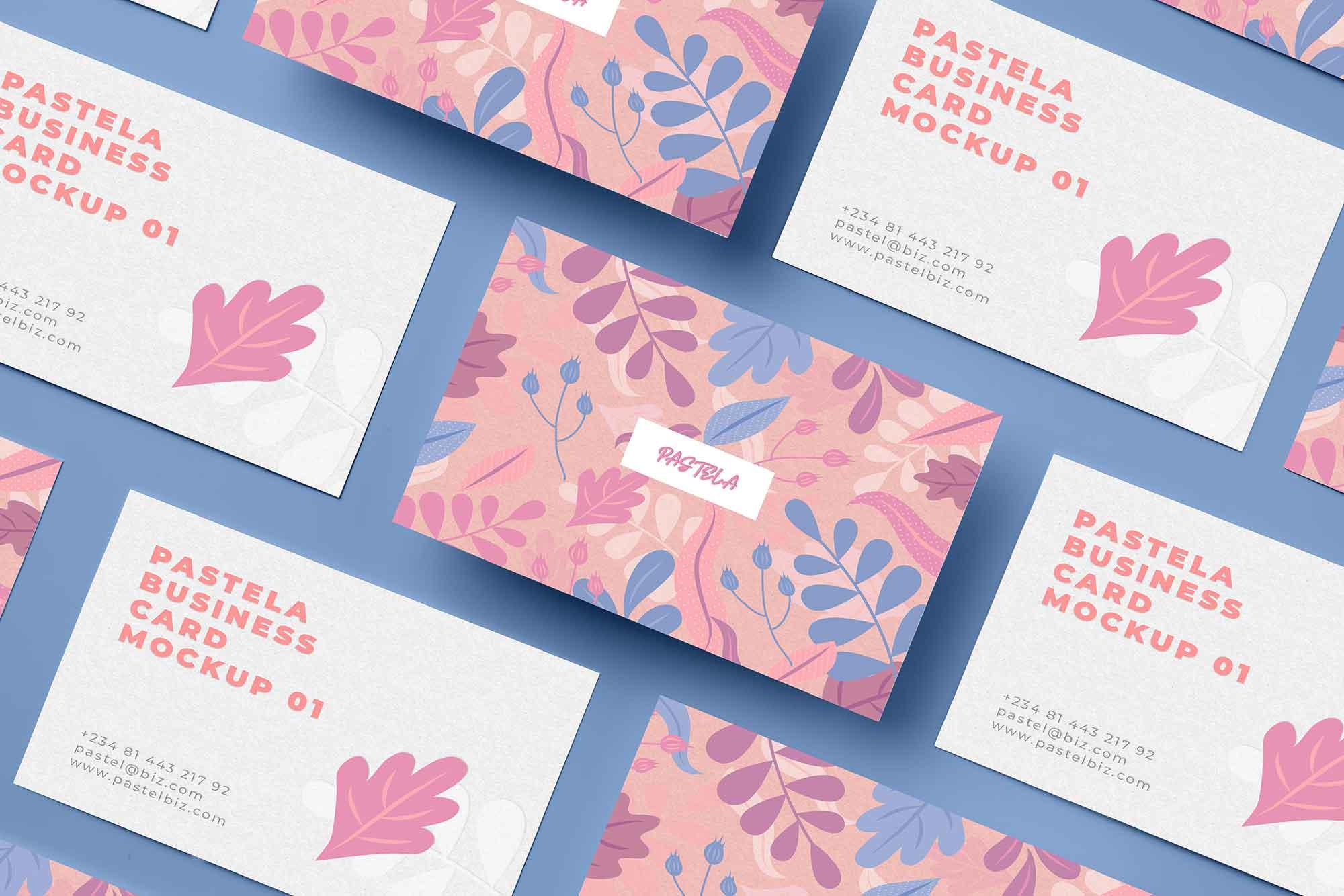 Business Card Mockup 14
